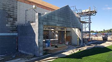 Cricket Facility Construction